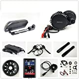 48V 1000W Tretlagerbreite: 68mm Bafang 8fun Mittelmotor Conversion Kits with LCD-TFT850C Display + 48V 17.5AH Down Tube TigerShark Frame Case Samsung Cell Battery with 5A Charger