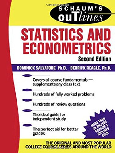 Schaum's Outline of Statistics and Econometrics (Schaum's Outline Series) por Dominick Salvatore