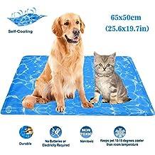 RioRand - Alfombrilla de refrigeración para Mascotas, refrigeración automática, para Verano, Dormir,