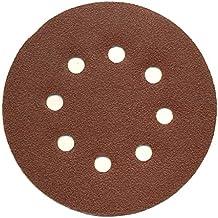50 Piezas Discos de pulir velcro ø 125 mm Grano 40 para Lijadora orbital 8-agujeros