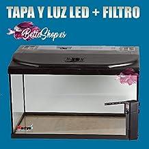 ACUARIOS ACUARIO STARTER COLD 60 LITROS TAPA LUZ LED Y FILTRO 650 L/H