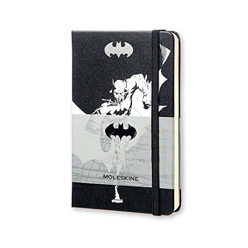Moleskine Batman Limited Edition Notebook, Pocket, Plain, Black, Hard Cover (3.5 X 5.5)