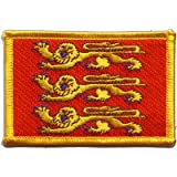 Écusson brodé Flag Patch France Haute-Normandie - 8 x 6 cm