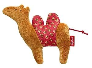 Sigikid 41269Rojo Estrellas Safari Tiere Camel Mini Grasp Juguete, 11x 13x 3cm