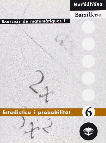 Estadística i probabilitat (Materials Educatius - Material Complementari Batxillerat - Quaderns De Matemátiques) - 9788448913601