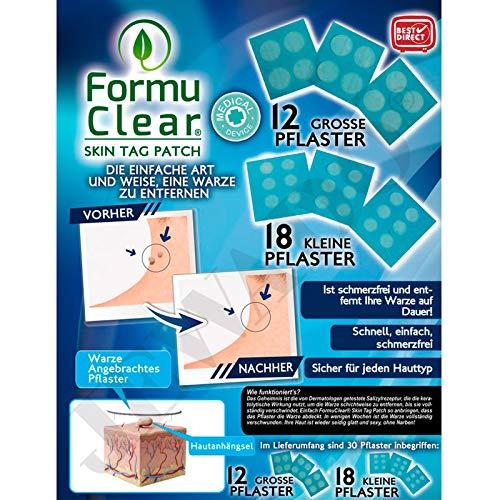 Formu Clear Skin Tag Patch - Warzenpflaster 30 Stück