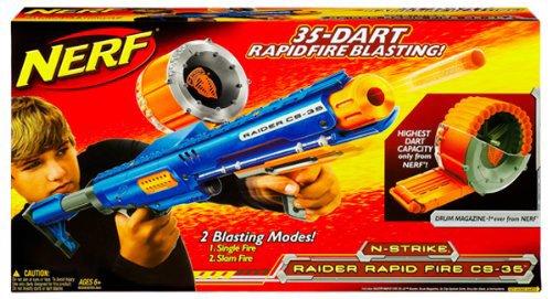 Imagen principal de Hasbro Nerf Raider Rapid Fire CS-35 Nstrike