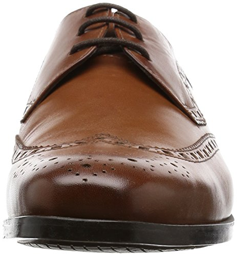 Limit Leather Schnürhalbschuhe Brogue Braun Herren Clarks Amieson Tan a18q5