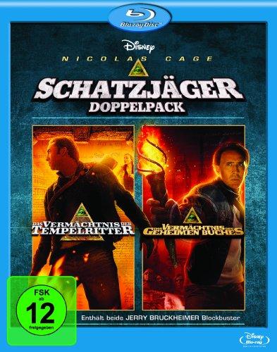Das Vermächtnis der Tempelritter/Das Vermächtnis des geheimen Buches [Blu-ray] Preisvergleich