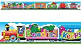 Reading Keeps You on Track (Furry Friends) 10ft School classroom display banner by TREND ENTERPRISES INC.