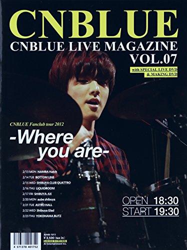Cnblue Live Magazine Vol.7 [DVD-AUDIO] (Cnblue Dvd)