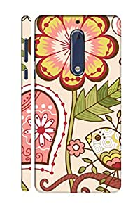 AMAN Sparks 3D Back Cover for Nokia 5