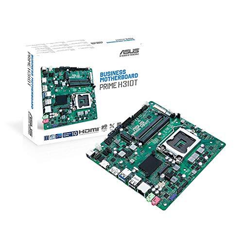 ASUS Prime H310T Intel® H310 LGA 1151 (Emplacement H4) Mini ITX - Cartes mères (DDR4-SDRAM, So-DIMM, 2133,2400,2666 MHz, 32 Go, Intel, Intel® Celeron®, Intel Core i5, Intel Core i7, Intel® Pentium®)