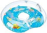 Lieberpaar Kinder Säugling Aufblasbare Runde Schwimmen Ring in Verschiedenen (Blau)