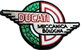 Aufnäher Ducati Corse Badge Logo Sign Symbol Embroidery Embroidered Sew on Iron on Patch MG06