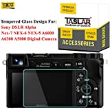 Best Selling Taslar® Tempered Glass Screen Protector for Sony DSLR Alpha Nex-7 NEX-6 NEX-5 A6000 A6300 A5000 Digital Camera,(Transparent) be sure to Order Now