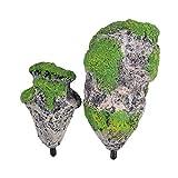 XingYue Direct Das schwimmende Aquarium-Aquarium der Felsen-Verzierungs-Landschaft Moss Flying Suspended Stone Decoration