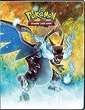 Ultra Pro Pokemon XY A4 9 Pocket Portfolio Album,Flashfire Mega Charizard
