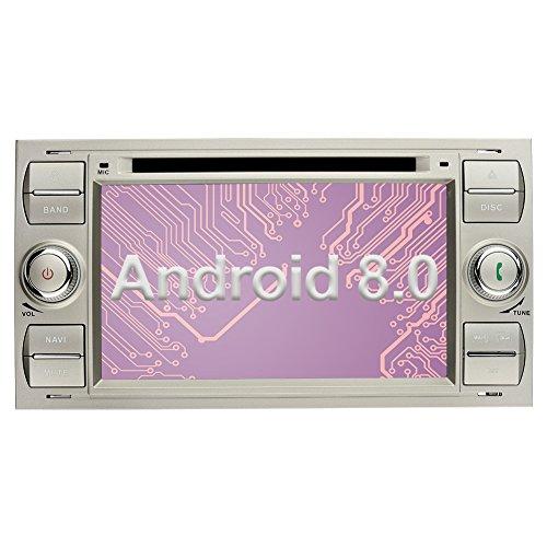 Ohok 2 DIN Android 8.0 Autoradio 7 Pulgadas Oreo Octa Core 4GB...