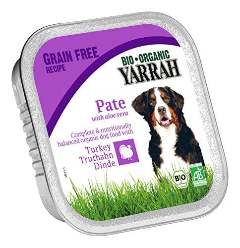 Yarrah Pate Truthahn Aloe Vera 150g Bio Hundefutter, 14er Pack (14 x 0.15 kg)