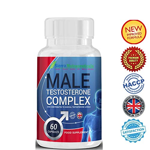#1 TESTOSTERONE BOOSTER for Men.Potent & 100% Natural Supplement.Boost Testosterone to rocket levels.High energy and Boost Muscle growth. Gain-booster