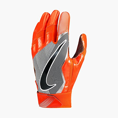Nike Vapor Jet 4 American Football Handschuhe Receiver - Team Orange/Vivid Orange/Black (X-Large)