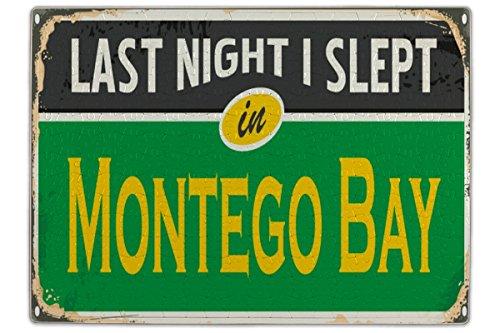 Jamaika Montego Bay (LEotiE SINCE 2004 Puzzle Fernweh Stadt Montego Bay Jamaika Bedruckt 120 Teile)