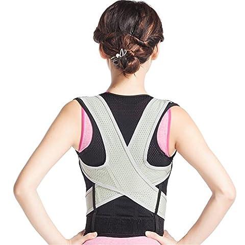 Haltungskorrektur®Neopren Breathable magnetische Haltung Corrector schlechte Rücken Schulter Lendenwirbel Stützgurt Klammer , xxl