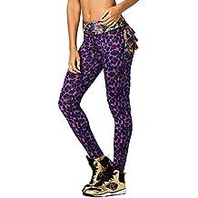 Zumba Fitness® la Goza Dera Ruffle Leggings Mujer Pantalones, Todo el año, Mujer