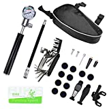Best Bombas de bicicleta de carretera - Kit de reparación de neumáticos de bicicletas, herramientas Review