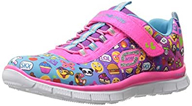 Skechers Kids Skech Appeal Pink Pixel Princess Sneakers 1 Junior