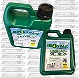 Biostar biologisches Kettensägen Öl 1 Liter