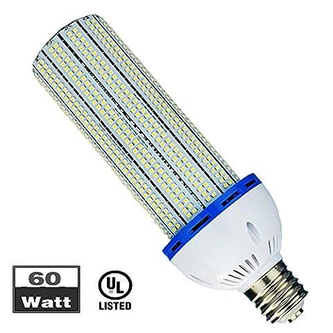 60W E40 LED Mais Licht 6000K LED Maislampe Leuchtmittel Straßenbeleuchtung 7800 Lm zu ersetzen Halogen HID HPS Metall Kompakt CFL (94 Wall Basis)