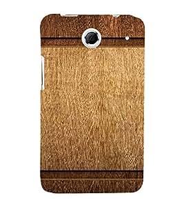 PrintVisa Plain Wooden Pattern 3D Hard Polycarbonate Designer Back Case Cover for Lenovo K880