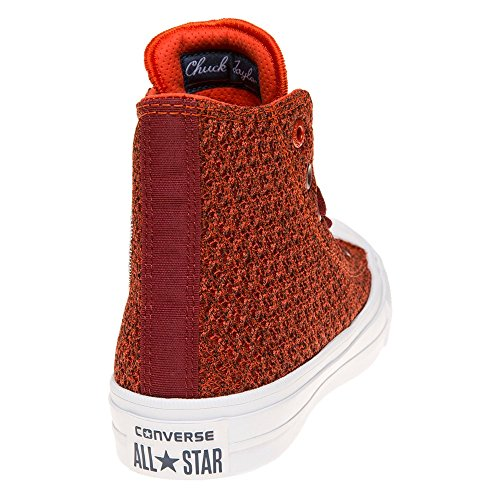 Converse Chuck Taylor All Star Ii High Donna Sneaker Rosso Rosso