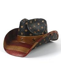 JUJIANFU-Sombrero de Personalidad Sombrero de Vaquero Occidental de la Paja  de los Hombres de la Moda para los Sombreros del… 104d5758544