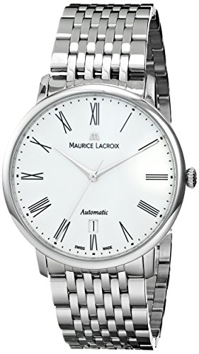 Maurice Lacroix Les Classiques Tradition Gents Watch, Stainless steel, White