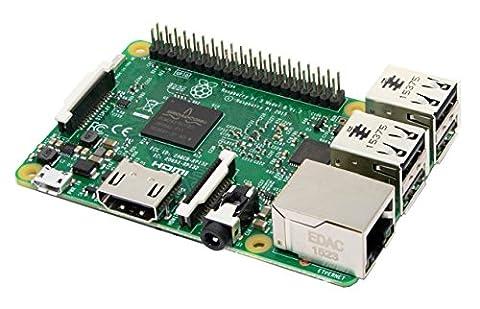 Raspberry Pi Carte Mère 3 Model B Quad Core CPU