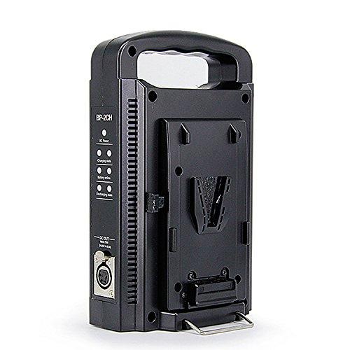 Fomito Dual V-Mount Ladegerät für alle 14.4V / 14.8V BP Batterien -