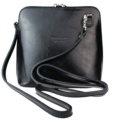 - 51wEr7wqhKL - Girly HandBags Genuine Leather Rigid Cross Body Shoulder Bag Real Italian