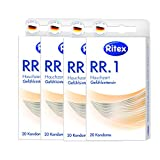 80 (4 x 20er) Ritex RR.1 Kondome - Gefühlsaktive Condome