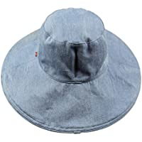 Primavera/estate denim cappello da sole/Cappelli anti-UV/La versione coreana del cappello da sole pieghevole/Grande cappello da sole