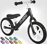 Cruzee OvO Balance Bike - 12 (Black) by Cruzee