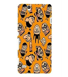 PRINTSHOPPII CARTOON Back Case Cover for Sony Xperia C4 Dual E5333 E5343 E5363::Sony Xperia C4 E5303 E5306 E5353