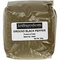 JustIngredients Essential Pimienta Negra (Molida) - 250 gr