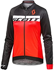 Scott RC AS Winter Fahrrad Trikot schwarz/orange 2018