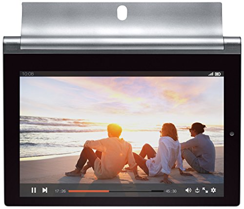 Lenovo Yoga Tablet 2-8 20,32 cm (8 Zoll FHD-IPS) Tablet (Intel Atom Z3745, 1,86GHz, 2GB RAM, 16GB interner Speicher, 4G LTE, Touchscreen, Android 4.4) platinum