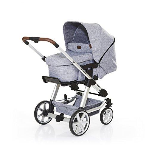 ABC Design Kombi-Kinderwagen Turbo 4 - Graphite Grey