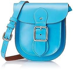 Viari Freshman Womens Satchel (Electric Blue)
