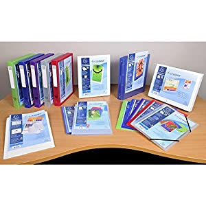 Exacompta Kreacover Opaque Semi-Rigid PP Display Book, A4, 30 Pockets, Black